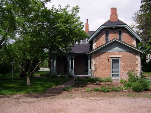 Back of House with Herb Garden