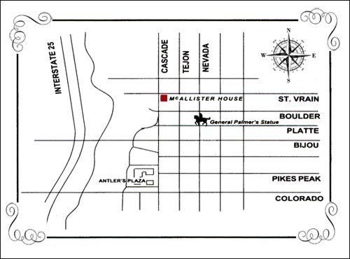 McAllister House Map