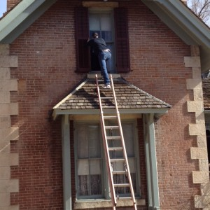 Repair of window