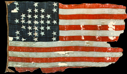Fort Sumter Flag As It Is Today