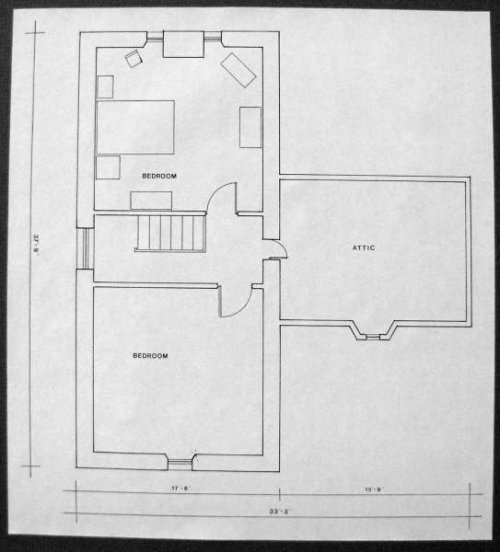 Plans for second floor