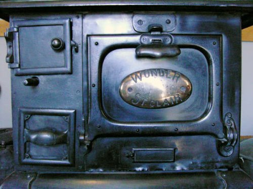 Detail of kitchen stove
