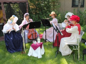 Cinnamon Tea flute group